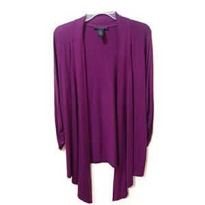 Grace Elements open front cardigan/cover up
